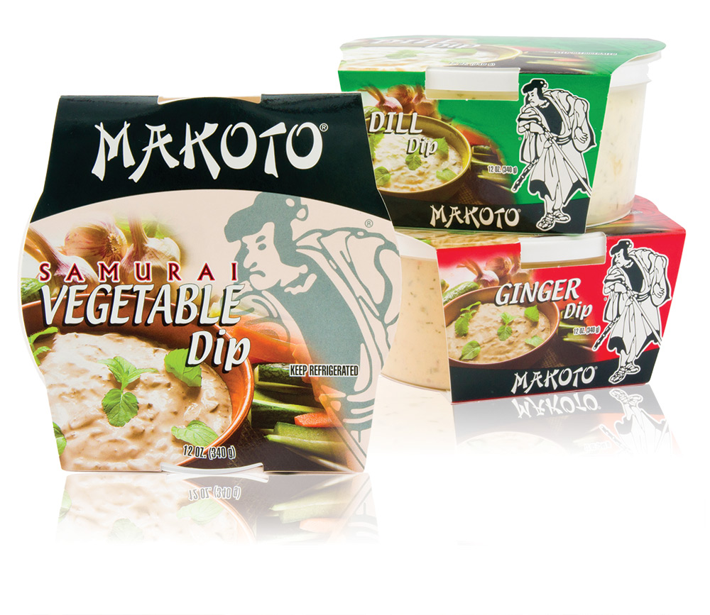 Makoto Brand Dip outer packaging