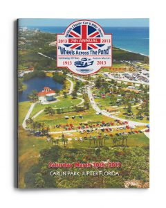 2013 Wheels Across the Pond Cover