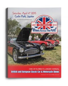 2015 Wheels Across the Pond Cover