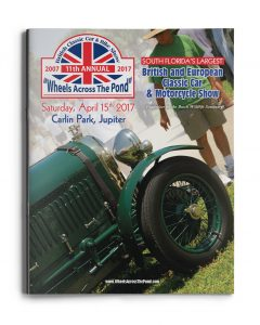 2017 Wheels Across the Pond Cover