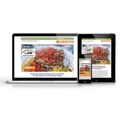 Bonefish Willy's Responsive Website design