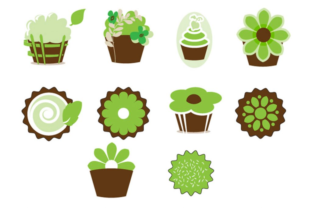 Cupcake Patch Icons