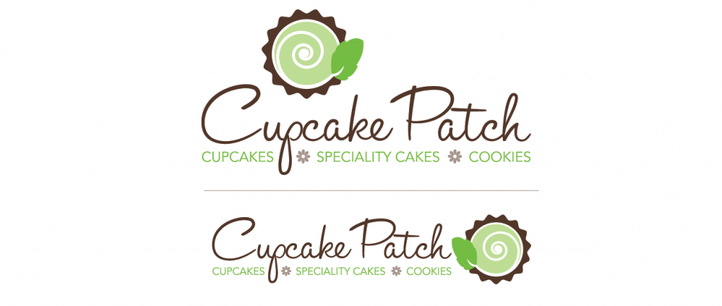 Cupcake Patch logo versions