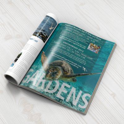 Gardens Mall Magazine ad