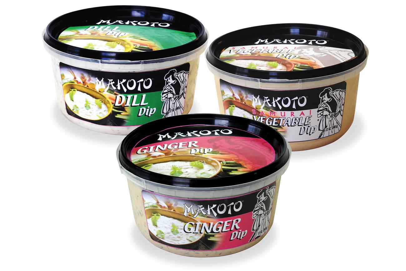 Makoto brand line of dips