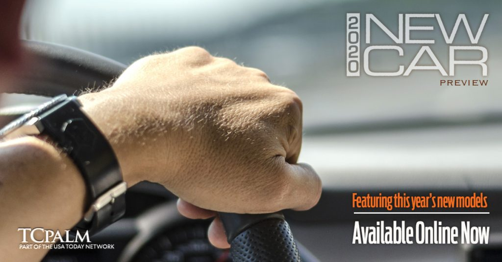 New Car Preview digital ad hands on the wheel