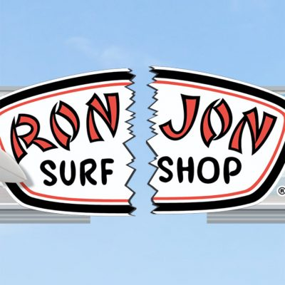 Ron Jon surf shop close up