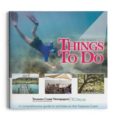 Treasure Guide booklet cover design