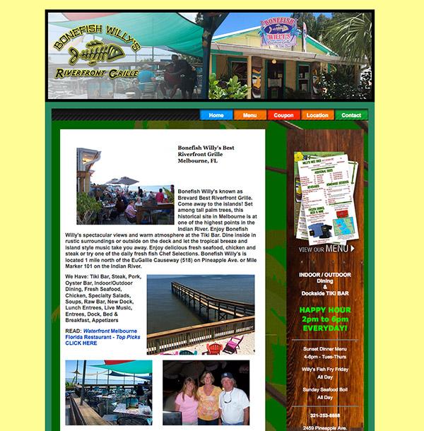 Bonefish Willys old website