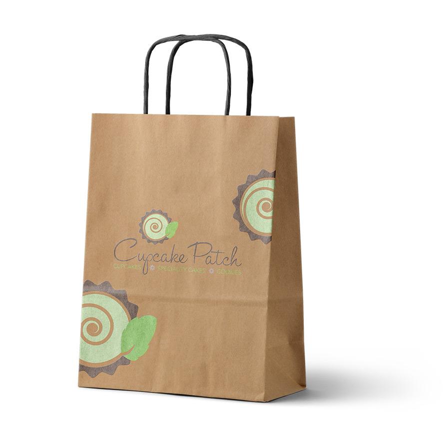 Cupcake Patch Bakery Bag