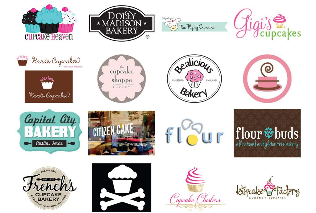 Research bakery logos