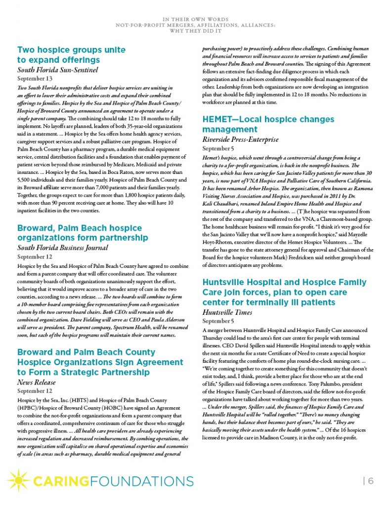 Caring Foundations white paper page 6