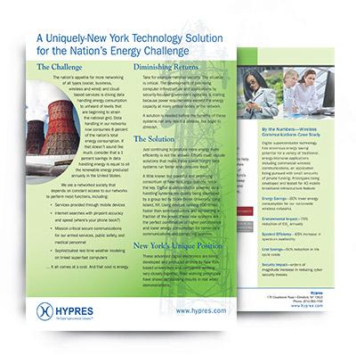 Hypres sales flyers
