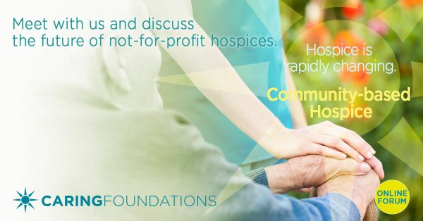 Caring Foundation Changing hospice social invite